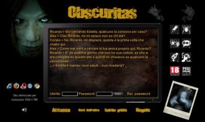 Home page di Obscuritas